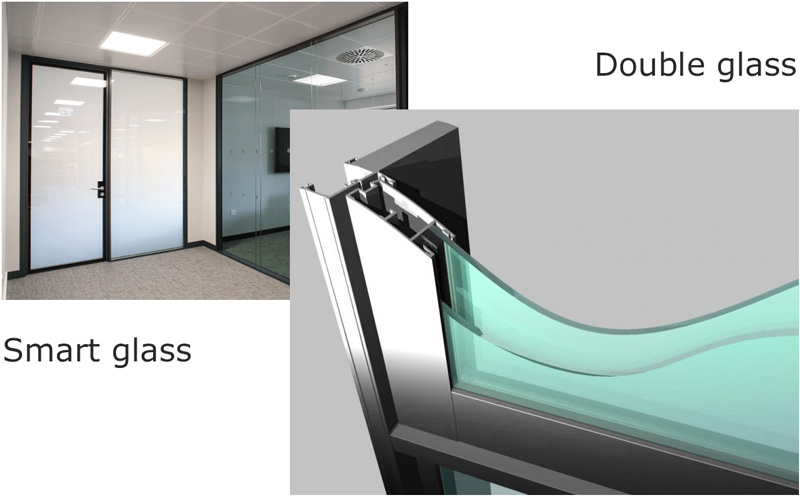 Smart glass and double glass
